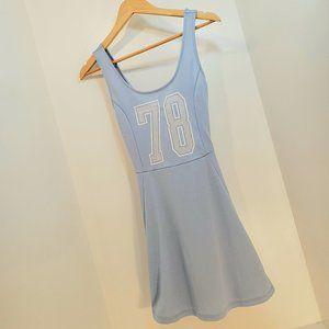 2/$60 H&M 8 Dress Skater Blue 78 mini has number
